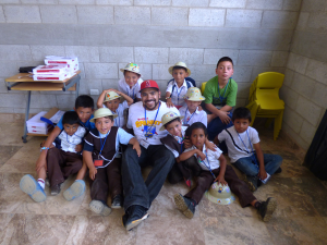 Insurance Partners' trusty agent Robert Marquez on the (volunteer) job in Guatemala.